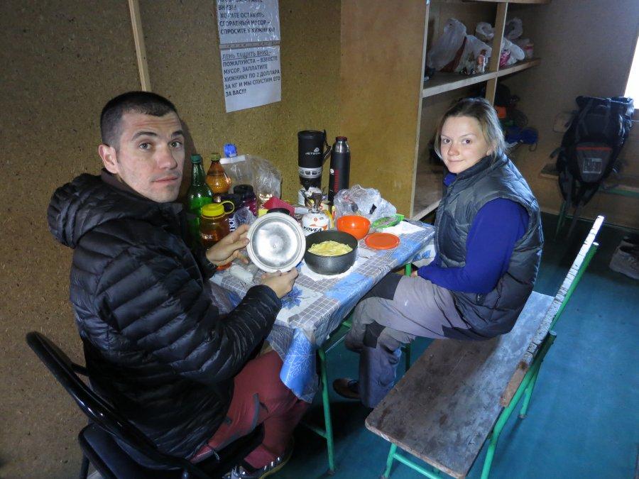 Aykut ve Olga Ratsek Dağ Evi'nde (Foto: Anıl Şarkoğlu)